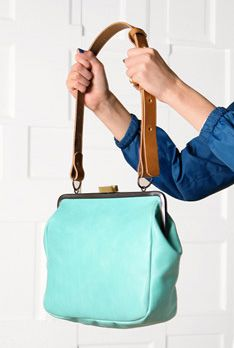 {the Monroe frame bag} by Ally Capellino LOVE this. But £448.00 - I think not!