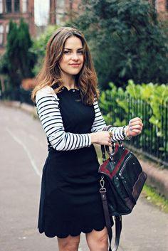 Lavish Alice tie side scalloped dress 2 T. Lavish Alice Dress, Scalloped Dress, Street Outfit, Girls Be Like, Outfit Posts, Her Style, Amy, Fashion Beauty, Autumn Fashion
