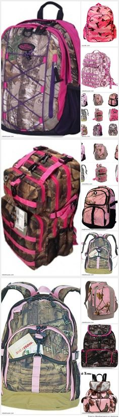 Best Pink Camo Backpacks for School