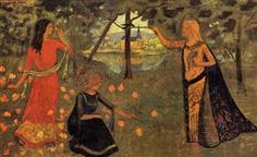 The Youth of Queen Anne - Paul Serusier  1904