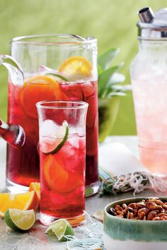 Refreshing Teas and Non-Alcoholic Sippers: Iced Hibiscus Sweet Tea