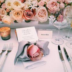 Classic, elegant, and stunning wedding table setting