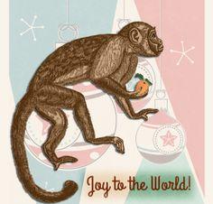 Holiday Monkey | by China Rose