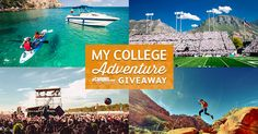 I just entered for my chance to win a $500 adventure package from eCampus.com! Enter Today!