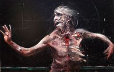 Paintings and Performance Art by Olivier de Sagazan