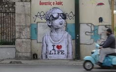 """Stroll in Athens, """"the contemporary mecca"""" street art in Europe"""