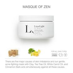 Limelight by Alcone, masque of zen.  https://www.limelightbyalcone.com/NikkiInc