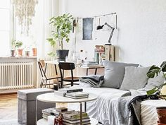 This Is How the Scandinavians Do Bohemian at Home via @MyDomaineAU