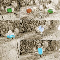 New listings in my Etsy shop by this evening. #seaglassjewelry #seaglass #seaglassring #turquoisejewelry #turquoise #turquoisering Sea Glass Ring, Sea Glass Jewelry, Turquoise Jewelry, Lisa, My Etsy Shop, Handmade Jewelry, Mermaid, Art Prints, Art Impressions