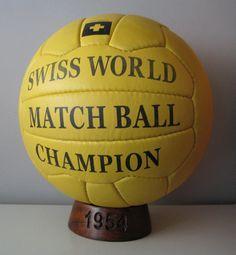 Balón oficial del Mundial de Suiza de 1954