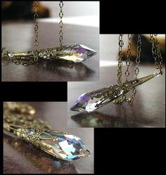 Clear Crystal necklace... pretty!