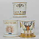 Three Fraternal Shaving Mugs - Cowan's Auctions