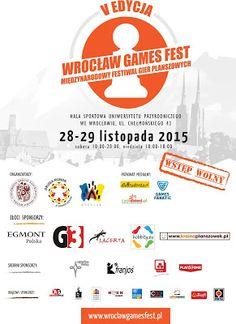 Blog na wolny czas: WROCŁAW GAMES FEST 2015  (28-29.11.2015r)