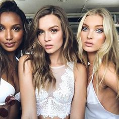 Love, love, love—@jastookes, @josephineskriver & @hoskelsa offer a sneak peek at summer! ❤️ #regram