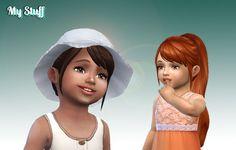 Mystufforigin: Confident Ponytail hair for toddlers  - Sims 4 Hairs - http://sims4hairs.com/mystufforigin-confident-ponytail-hair-for-toddlers/