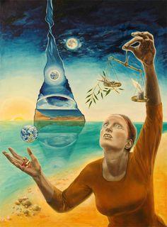 Painting by Batya Kuncman, Sway on ArtStack #batya-kuncman #art