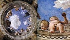 La prospettiva sul corpo umano: lo scorcio - Mantegna, Camera degli Sposi