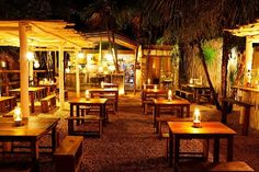 Beach restaurant and bar in Mexico Hartwood Tulum, Mexico