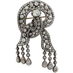 british royal family jewels | ... Watches - A British Royal Family Diamond Brooch - Yafa Signed Jewels