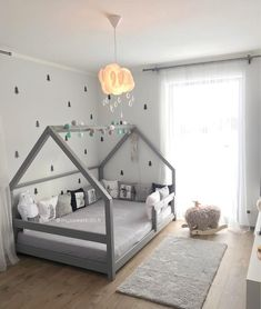 Gray TERY Cabin Bed - BellyStar - ideas for children& room 2019 . - Gray TERY Cabin Bed – BellyStar – ideas for children& room 2019 – dec - Toddler House Bed, Boy Toddler Bedroom, Baby Bedroom, Baby Boy Rooms, Baby Room Decor, Girls Bedroom, House Beds For Kids, Toddler Boy Beds, Bed For Kids