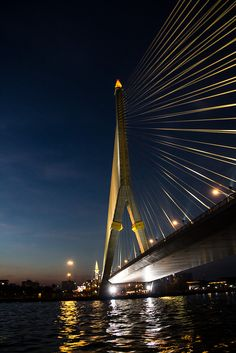 Rama VIII Bridge, Bang Phlat, Bangkok, Thailand How can you travel around the world without spending a fortune? Discounts of up to 70% of the usual prices! https://swisshalley.com/en/ref/Kaldin