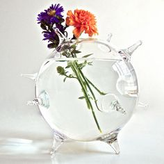 Spikey Globe Vase now featured on Fab.