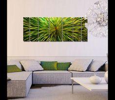 400249866fe Green Vortex Metal Abstract Wall Decor by Jon Allen Metal Wall Sculpture