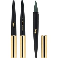 Yves Saint Laurent Beauty Women's Couture Kajal Eye Pencil ($35) ❤ liked on Polyvore featuring beauty products, makeup, eye makeup, eyeliner, dark green, eye pencil makeup, yves saint laurent eyeliner, pencil eyeliner, yves saint laurent and pencil eye liner