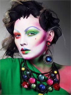 Makeup by Alex Box.