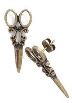 @Sarah Paduano these are perfect for you!!!!!!  Shear Style Earrings, #ModCloth