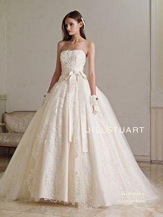 Ball Gown Wedding Dresses For Bride : Jill Stuart White Wedding Gowns, Princess Wedding Dresses, Bridal Dresses, Gown Wedding, Lovely Dresses, Beautiful Gowns, Weeding Dress, Dress Brands, Marie