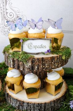 Enchanted Forest Party Decorations /Food Dessert Label Cards
