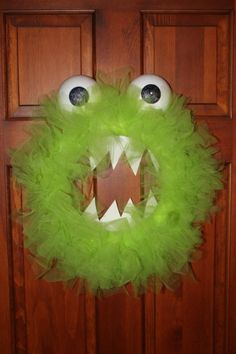 Looking for the last-minute decoration to take your Halloween home to the next level? Why not add a little monster to your decorations?