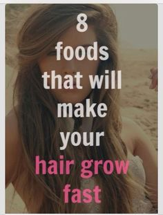✨ 8 Foods That Will Make You Hair Grow Fast✨ #Fashion #Beauty #Trusper #Tip