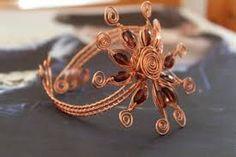 Resultado de imagem para wire copper jewelry