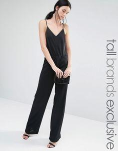 a6fd91948f06 Y.A.S+Tall+Premium+Wide+Leg+Cami+Strap+Jumpsuit