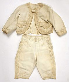 Awww. cute.....................................Boy's Suit, 1870, American.