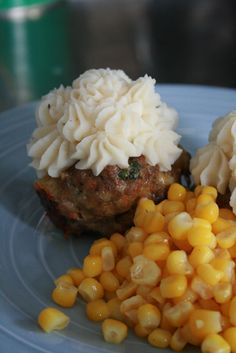 Meatloaf Cupcakes & Mashed Potato Frosting | {So Wonderful, So Marvelous}
