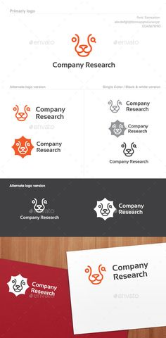 Company Research Logo 100% Vector Logo – Simple yet clean Company Research logo logo template. Logo idea for virtually any business looking for innovative and original branding idea. Perfect for app icons, startup companies and/or corporate identity use.