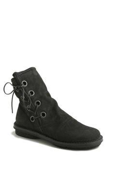 trippen tramp black ankle boots holes trippen stivaletti tramp neri buchi trippen shop online