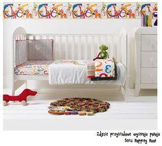 Kołderka z wypełnieniem, kolekcja Hoppity Hoop - Pełna kolorów kołdra doda charakteru pokoikowi Maluszka, który pokocha całą zabawną serię Hoppity Hoot.