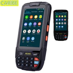 275.50$  Buy now - http://aliyut.worldwells.pw/go.php?t=32505788619 - CARIBE PL-40L Black Rugged Industrial Handheld Terminal PDA Android 1D Barcode Scanner with NFC Reader,WIFI,4G,GPS 275.50$