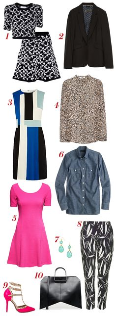The 10 pieces you need to recreate Mindy Kaling's style.
