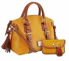 Dooney Bourke Croco Embossed Leather Tassel Bag Qvc Purses Pinterest And