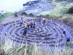 Dunure Labyrinth Celebration Day 2nd September 2009 by green-man1 on Flickr