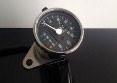 TACHOMETER/Speedometer/SPEEDO/Petit tachymètre 60mm, mit Kontrollleuchten, K=1,4 | eBay