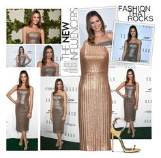 """2016 Elle Women in Hollywood Celebration~ Odette Annable"" by snugget9530 ❤ liked on Polyvore featuring Oris and Odette"