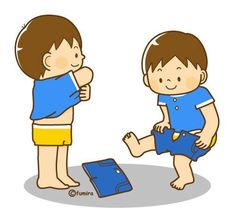 I can put on my shirt and pants. Color Flashcards, Paper Crafts Magazine, Family Illustration, Kids Class, Toilet Training, Cartoon Kids, Pre School, Clipart, Teaching Kids