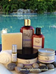 Natural and Organic Skin Products... www.taijabonesyvelas.com