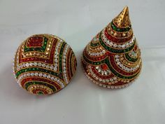 Diwali Decorations, Indian Wedding Decorations, Festival Decorations, Diy Wedding, Wedding Events, Weddings, Marriage Symbols, Kalash Decoration, Coconut Decoration